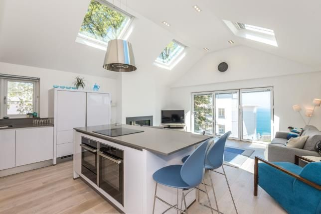 Thumbnail Flat for sale in Trelyon Avenue, St.Ives, Cornwall