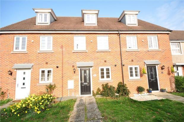 Thumbnail Terraced house for sale in Appleton Drive, Basingstoke, Hampshire