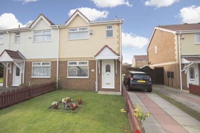 Thumbnail Semi-detached house for sale in Netherfields Crescent, Middlesbrough