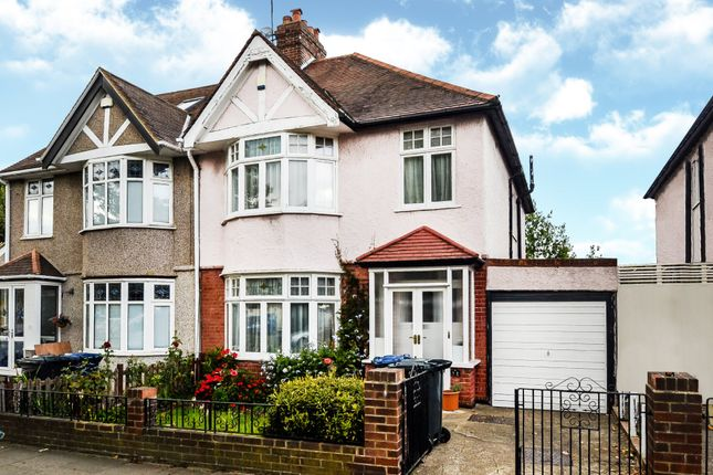 Thumbnail Semi-detached house for sale in Haslemere Avenue, London