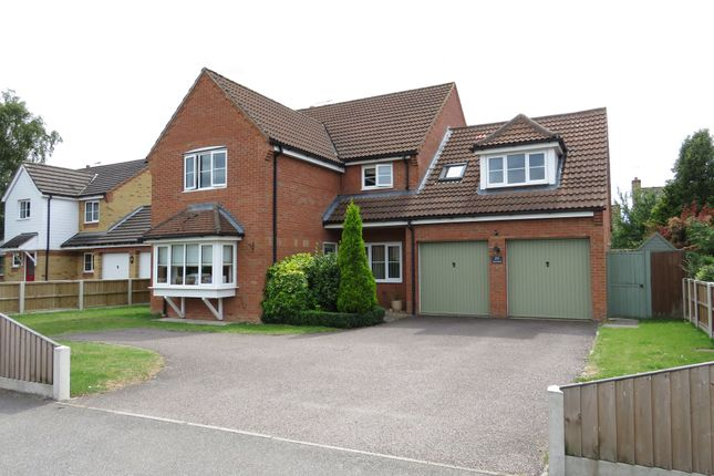 Thumbnail Detached house for sale in Stone Road, Toftwood, Dereham