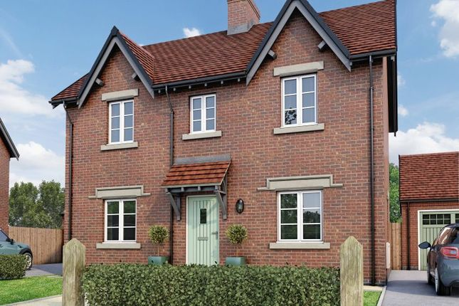 Thumbnail Detached house for sale in The Belper, Moira, Leicestershire