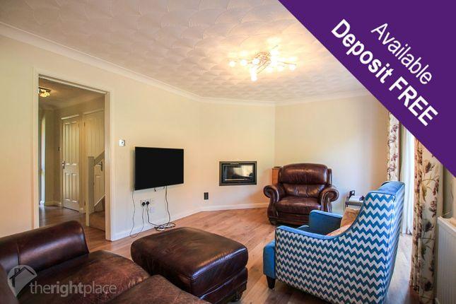 Thumbnail Detached house to rent in Morrison Court, Crownhill, Milton Keynes