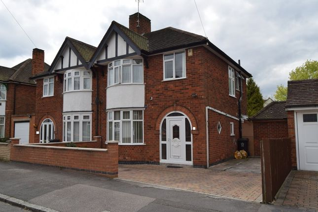 Thumbnail Semi-detached house for sale in Barbara Avenue, Humberstone, Leicester