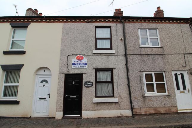 1 bed terraced house for sale in Top Road, Summerhill, Wrexham LL11