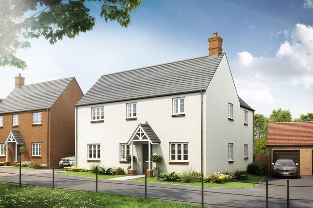 "Thumbnail Detached house for sale in ""Cosgrove"" at Heathencote, Towcester"