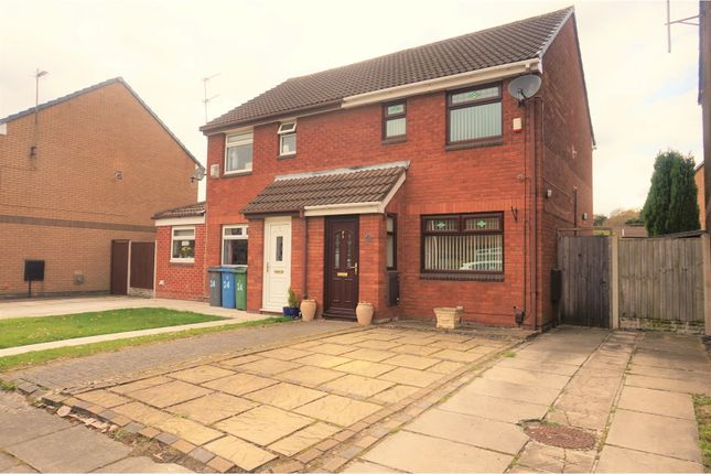 Thumbnail Semi-detached house for sale in Bradbourne Close, Liverpool
