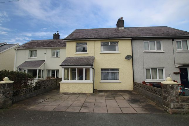 Thumbnail Terraced house for sale in Cylch Peris, Llanon