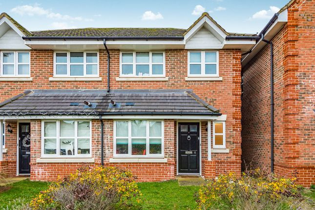 Thumbnail Semi-detached house to rent in The Hedgerows, Woodley, Reading