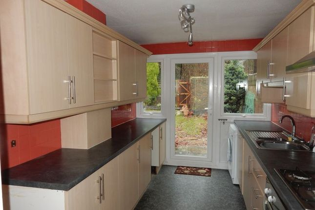 Thumbnail Terraced house to rent in Highdown Court, Forestfield, Crawley
