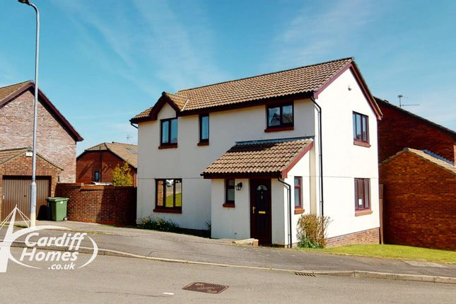 Thumbnail Detached house for sale in Buckley Close, Llandaff, Cardiff