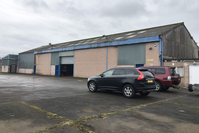 Thumbnail Industrial to let in Newtown Industrial Estate, Caxton Road, Workshop & Yard, Carlisle
