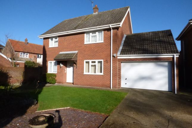 Thumbnail Detached house for sale in Church Green, Sprowston, Norwich
