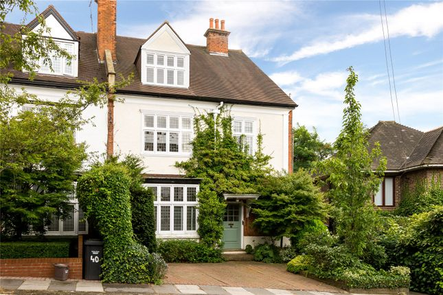 Thumbnail Semi-detached house for sale in Pattison Road, Hampstead, London