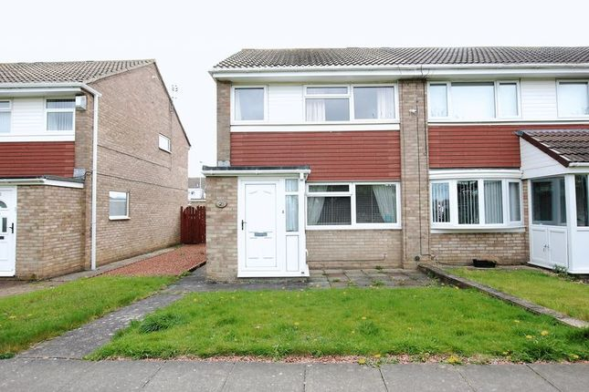 Thumbnail Semi-detached house to rent in Amberley Way, Blyth