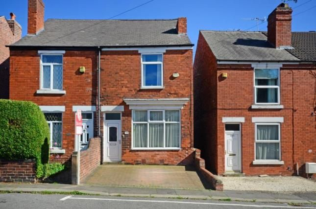 Thumbnail Semi-detached house for sale in Old Hall Road, Chesterfield, Derbyshire