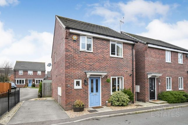 Thumbnail Detached house for sale in Hetton Drive, Clay Cross, Chesterfield