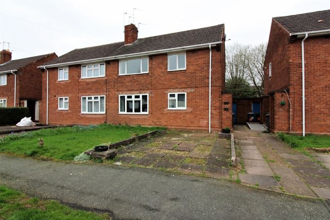 Thumbnail Flat for sale in Merrick Road, Wolverhampton