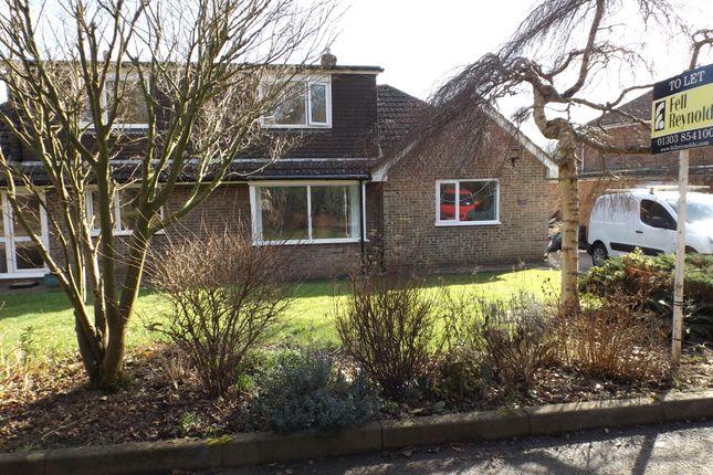 Thumbnail Semi-detached bungalow to rent in Stombers Lane, Hawkinge, Folkestone