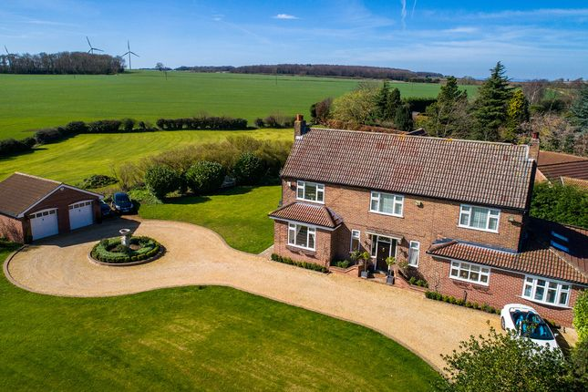 Thumbnail Detached house for sale in Common Road, Thorpe Salvin, Worksop