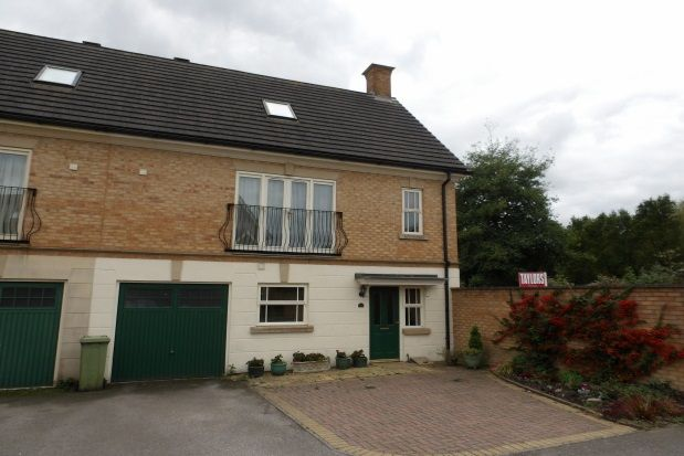 Thumbnail Town house to rent in Clegg Square, Shenley Lodge, Milton Keynes