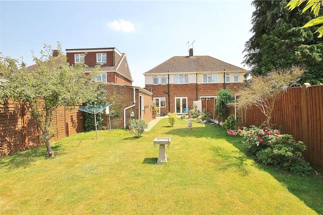 Thumbnail Semi-detached house for sale in Hogarth Avenue, Ashford, Middlesex