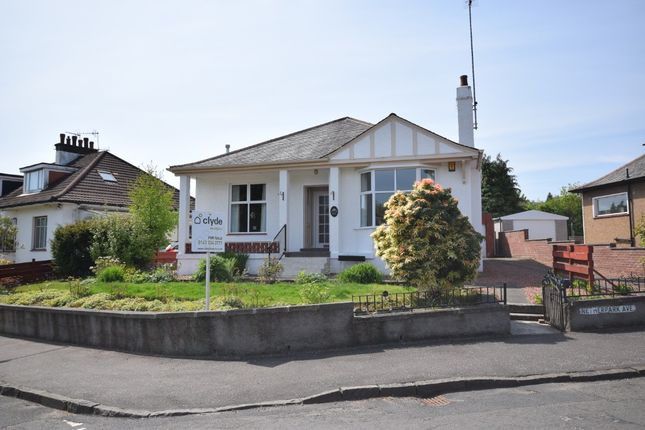 Thumbnail Detached bungalow for sale in Netherpark Avenue, Netherlee, Glasgow