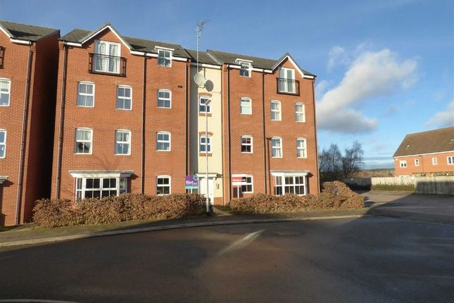 Thumbnail Flat for sale in Violet Close, Cannock, Staffordshire