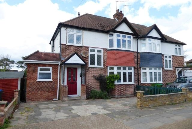 Thumbnail Semi-detached house for sale in Gosbury Hill, Chessington