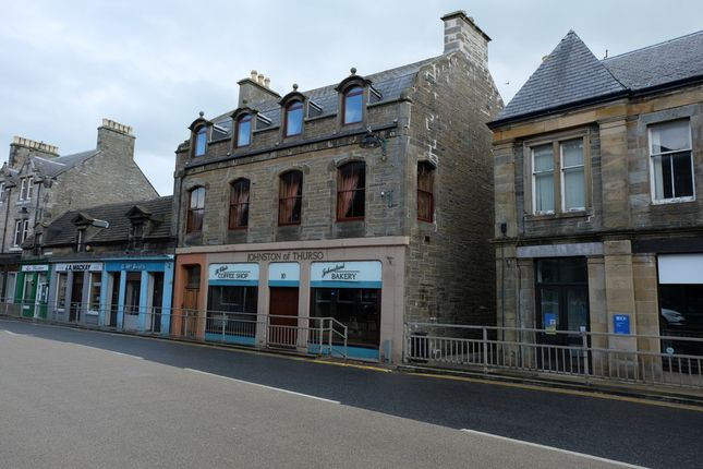 Thumbnail Town house for sale in Traill Street, Thurso