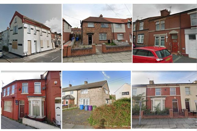 Thumbnail Commercial property for sale in Wall Street, Liverpool