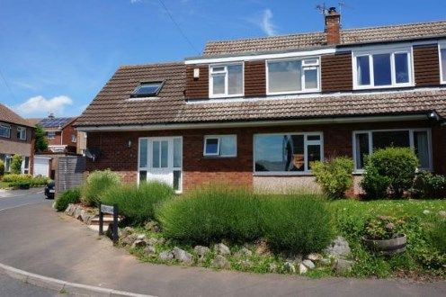 Thumbnail Semi-detached house for sale in Queens Down, Creech St. Michael, Taunton