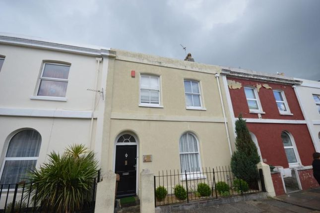 Thumbnail Terraced house to rent in Cecil Street, Plymouth