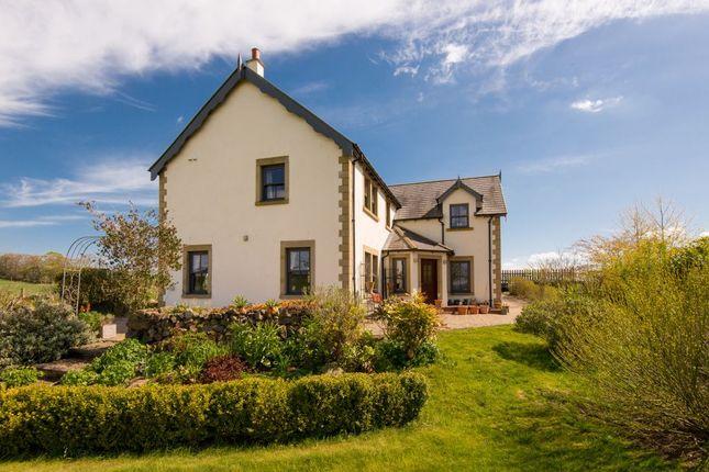 Thumbnail Detached house for sale in Brae House, Edington Hill, Nr Chirnside, Duns