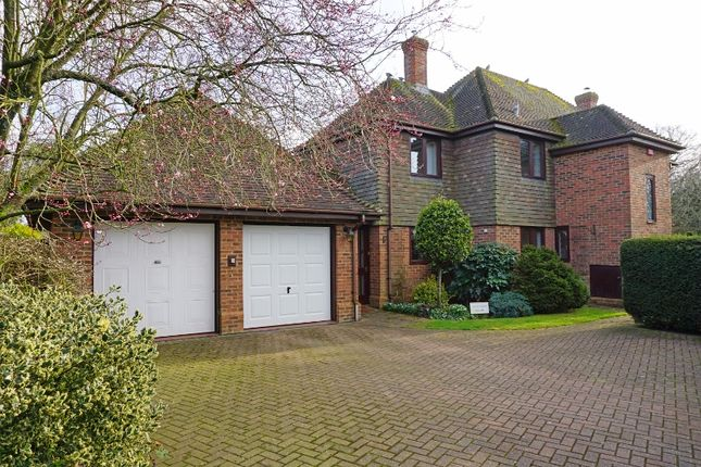 Thumbnail Detached house for sale in Chilbolton, Stockbridge, Hampshire