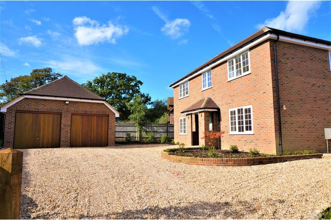 Thumbnail Detached house for sale in Monk Sherborne Road, Basingstoke