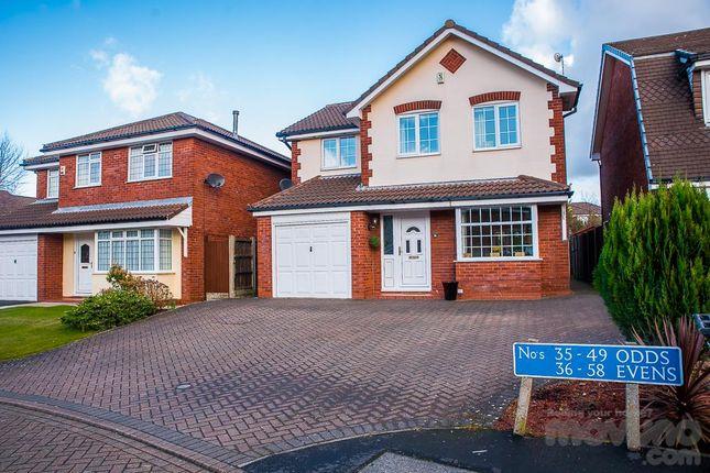 Thumbnail Detached house for sale in Springwood Close, Walton-Le-Dale, Preston