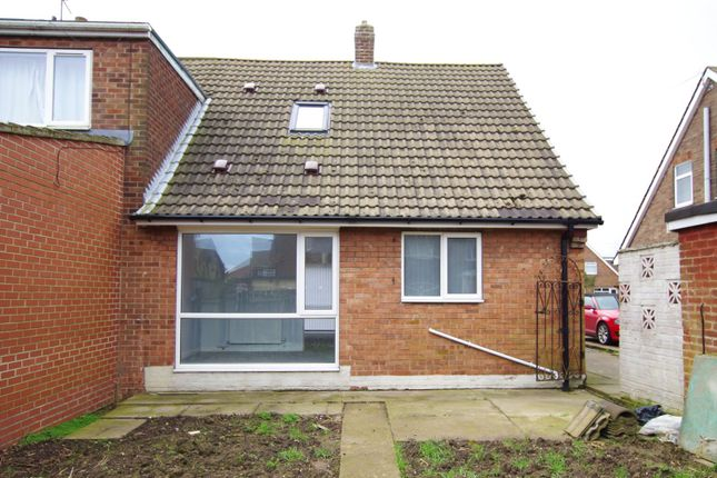 Rear View of Leonard Close, Paull, Hull, East Yorkshire HU12