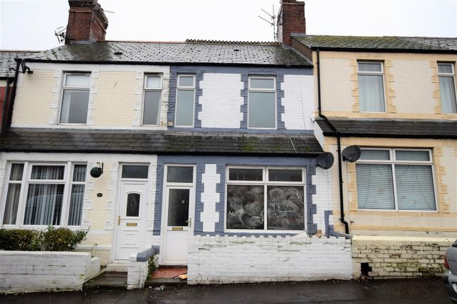 Thumbnail Terraced house for sale in Palmerston Road, Barry
