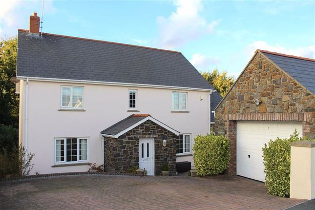 Thumbnail Detached house for sale in Liddeston Valley, Hubberston, Milford Haven