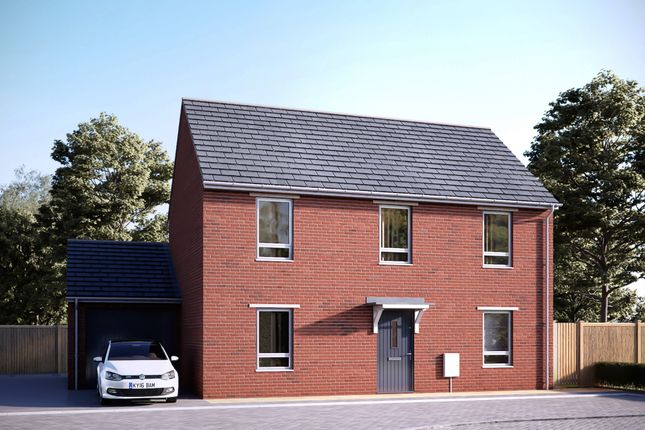 """Thumbnail End terrace house for sale in """"The Belstone"""" at Tithe Barn Lane, Exeter"""