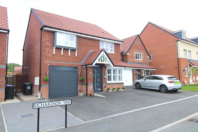 4 bed detached house for sale in Richardson Way, Consett DH8