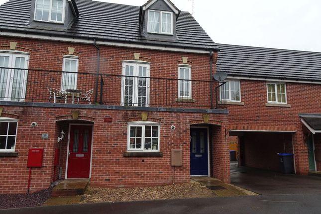 Thumbnail Semi-detached house to rent in Millbrook Gardens, Blythe Bridge