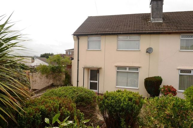 Thumbnail Semi-detached house for sale in Heol Miles, Talbot Green, Pontyclun
