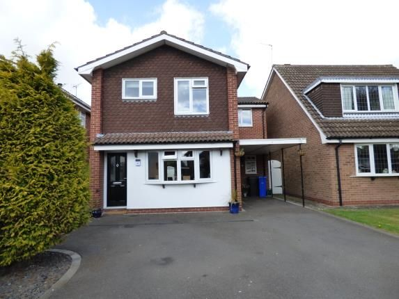 Thumbnail Detached house for sale in Plackett Close, Breaston, Derby