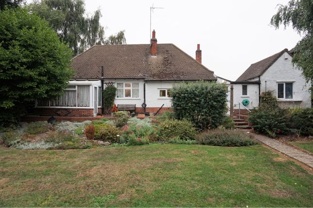 Thumbnail Detached bungalow for sale in Shakespeare Drive, Leicester