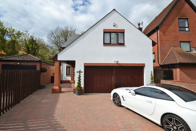 Thumbnail Detached house for sale in Stunning Luxury Modern House, Woodside, Fields Park Crescent, Newport