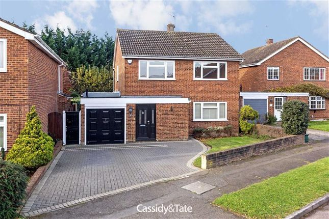 Thumbnail Detached house to rent in Hawthorn Way, St Albans, Hertfordshire