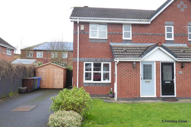 Thumbnail Semi-detached house to rent in Finchley Close, Bury