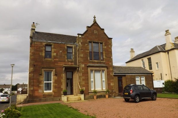 Thumbnail Flat to rent in South Crescent Road, Ardrossan